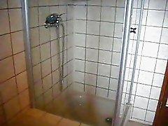Wixen beim Duschen - jerking in shower