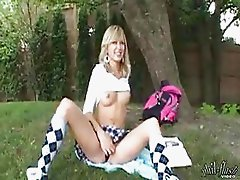 kasia in the park