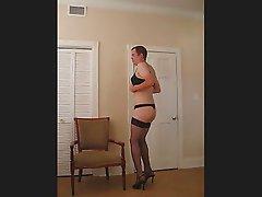 Vanessa dancing to the pussycat dolls