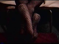 PAULA'S FISHNET FEET