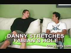 Danny does Fabian really hard