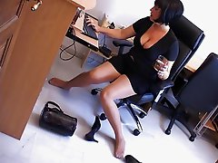 Drunk milf secretary part 3