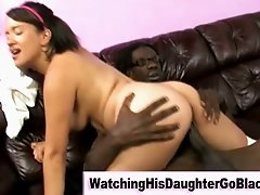 Interracial black guy fucks white girl