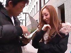 Erena Aihara gets picked up and fuked hard