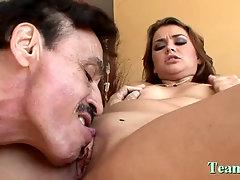 Lovely Allie Haze fucked by male