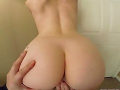 Amateur POV sex tape with a blonde whore