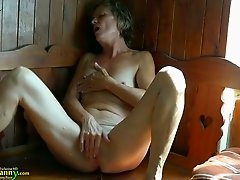 This granny is horny as fuck and she has not lost interest in masturbating