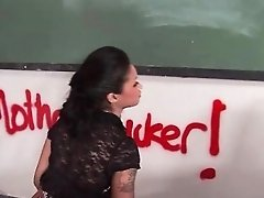 gorgeous ebony girl seduce her teacher part4