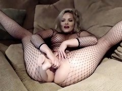 CamSoda - Alexis Texas in fishnets