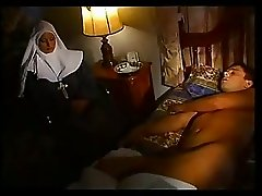 Italian Nun Sucks And Fucks Sick Man