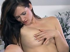 These smoking hot lesbians are in love and this scene is hot