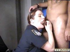 Amateur milf Cops are Fucking a Black Dude