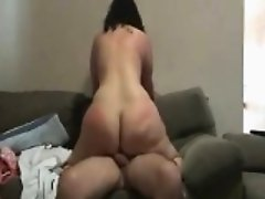 GILF With A Big Ass Riding On A Cock