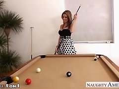 Housewife Courtney Cummz take cock in POV