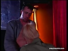 Trina Michaels fucks her TV producer in the room. Tasty video.