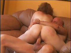 Mature Tierece Saulrine is sucking cock like a pro