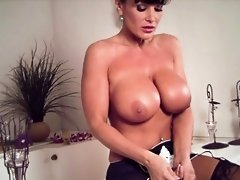 MILFs Big Boobs Buoy in the Bathtub!