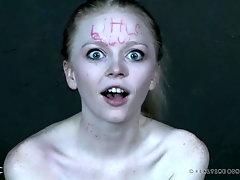 Alice goes wild in lesbian bondage porn game