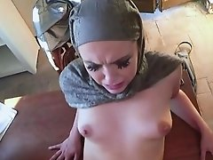 Desperate Arab Chick Zoe Gets Dicked Down