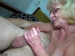Grandma amateur sex toys action compilation homemade granny porn
