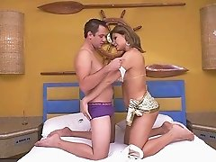 Hottest tranny engages in the pounding session with her partner