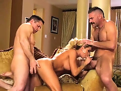 High class escort, Jessa Rhodes got down and grubby with 2 rich studs, at the same time