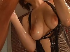 Big boobs dame never minds having them fondled as long as it leads to awesome throbbing