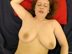 Emotional big breasted whore Alice Wayne gives head and gets poked mish