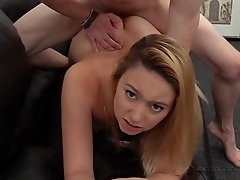 Auditioning Melanie turns to be quite an enjoyable erotic experience