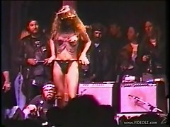 Crazy Biker Chicks Getting Naked On Stage