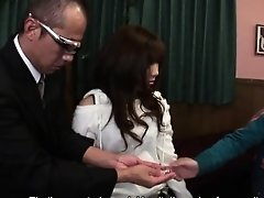 Cute Japanese babe Mahiru Tsubaki is ready to get drilled