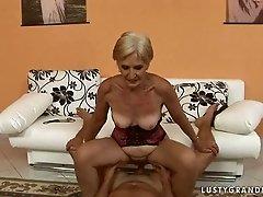 grandma likes fucking