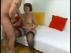 Hairy Old Grandma Loves Sex