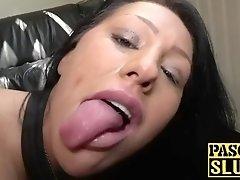 busty slut candi kayne drilled hard in her wet shaved cunt