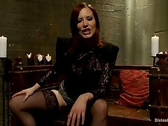 Nasty porn chick Maitresse Madeline likes to share a hot and wild bdsm scene