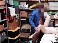 Hot shoplifter Ariel Mcgwire fucks a huge dick