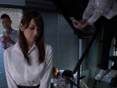 Stacked Japanese beauty welcomes a hard dick in her snatch