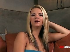 Blonde Ashlynn Brooke pounded in her beautiful twat
