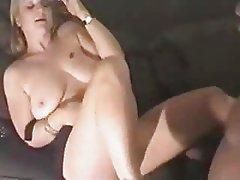 PRETTY BLONDE BBW SUCK AND FUCK