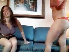 Girls in Love - Two Charming Hairy Lesbians