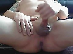 jackoff 5 shooting a load on new webcam