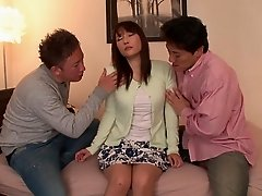 Haruka Aizawa is a mature woman craving a fat boner