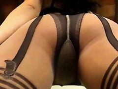 Milf Diana's Hot Pantyhose Show
