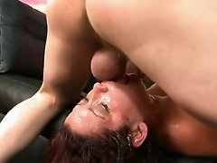 Poking Nasty Hoes Throat With Big Tool And Making Her Gag