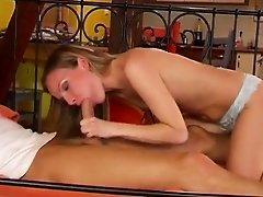 Skinny Cindy humped by by friend