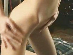 hottie strips plays and sucks