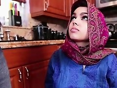 Arab innocent teen Ada gets filled