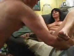 First video for old shy mature