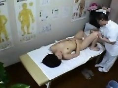Slim Japanese chick with perky titties gets nailed hard by