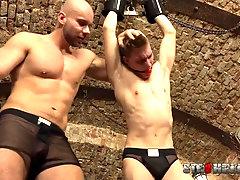 Marek Borek and Matej Borzik are very close to reach an orgasm together